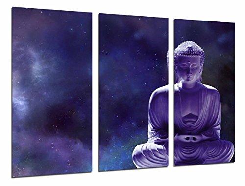 Cuadro Moderno Fotografico Tema zen, relajacion, buda morado, 97 x 62 cm, ref. 26593