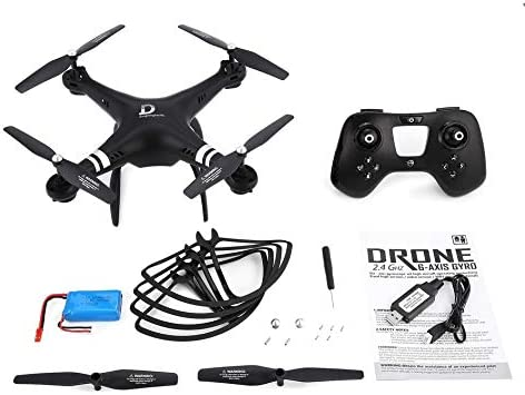 X8 RC Drone RC Quadcopter Drone 22mins Long Flight Altitude Altitude Altitude Hold Headless Mode - Black | De Haute Sécurité  ad6d06