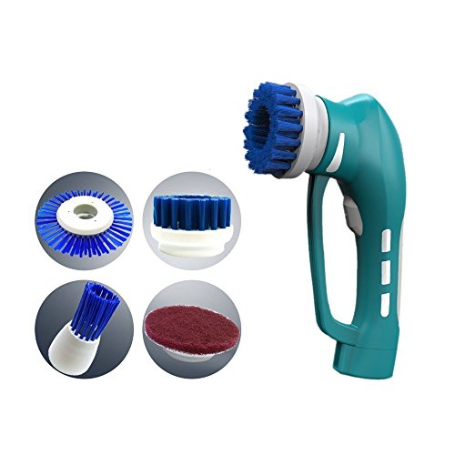 PowerLead Handheld-Reiniger-Bürste, Power Scrubber Reinigungs-Kit Portable Akku-Power-Scrubber...