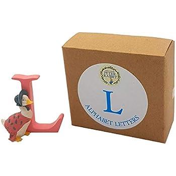 9d01a2480557 Official Licensed Boxed BEATRIX POTTER Jemima Puddle Duck Alphabet Letter L