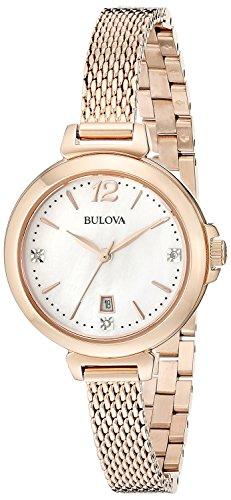 montre heure seulement Bulova pour femme Diamanti 97P108 style décontracté cod. 97P108