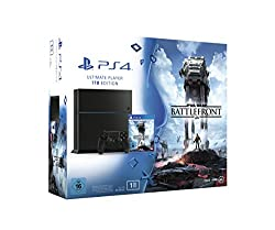 PlayStation 4 - Konsole (1TB) inkl. Star Wars Battlefront Standard Edition [CUH-1216B]
