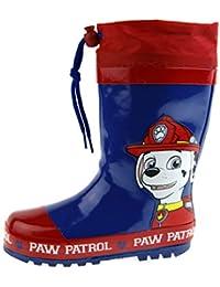 de99e30a2a6 Paw Patrol Boys Tie Top Wellington Boots