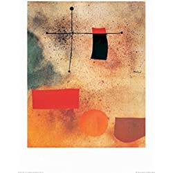 1art1 Joan Miró Poster Reproduction - Abstract, 1935 (70 x 50 cm)