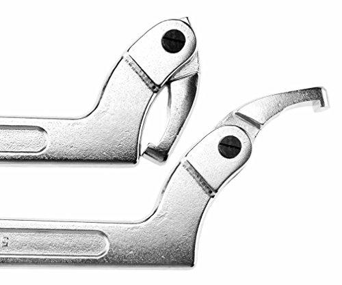 Verstellbarer C Schlüss Hakenschluessel Werkzeug 51-121mm