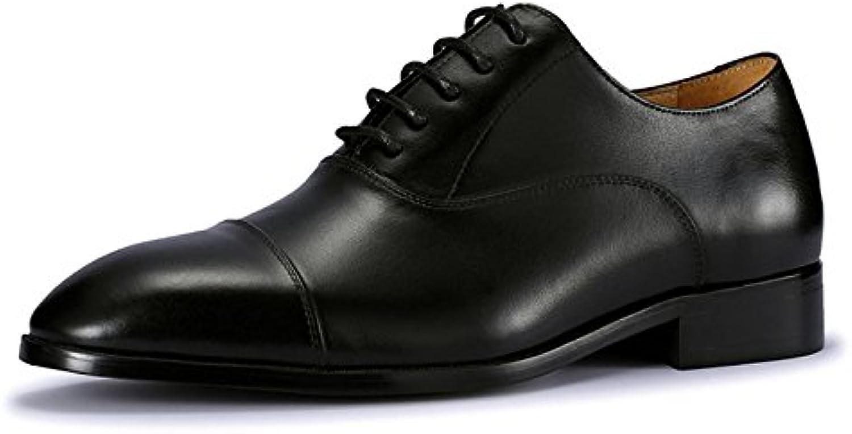 MHSXN Mann Klassischen Formalen Lederschuhe Arbeiten Spitze Schuhe Mann Schwarz Braun Spitz Lederschuhe