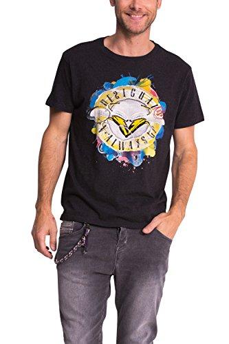 Desigual -  T-shirt - Maniche corte  - Uomo nero M
