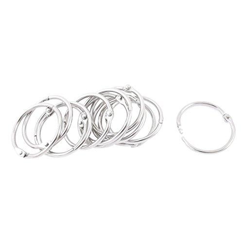 metal-book-loose-leaf-binder-hinge-snap-ring-25mm-inner-dia-12pcs