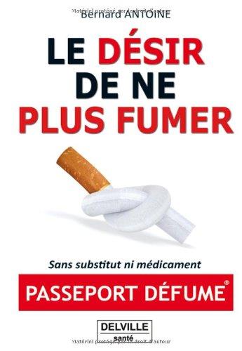 Le désir de ne plus fumer