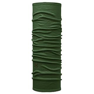 Buff Lightweight Merino Wool Multifunktionstuch, Solid Forest Night, One Size