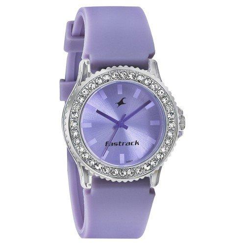 Fastrack Analog Purple Dial Women\'s Watch-9827PP16J