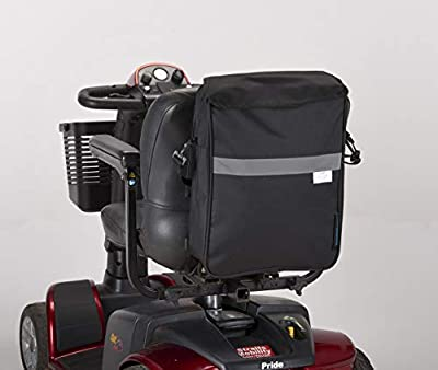 New Deluxe Mobility Scooter Bag Black