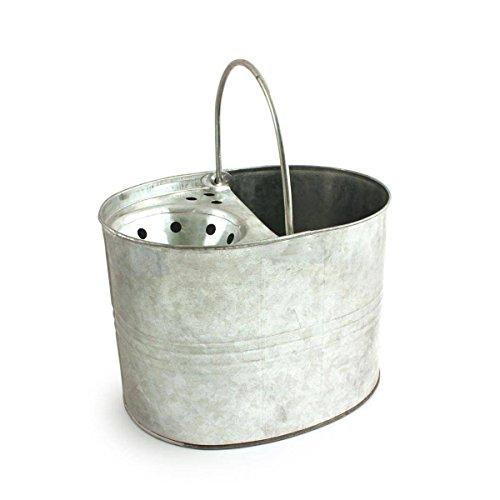 Cubo galvanizado, capacidad 3galones