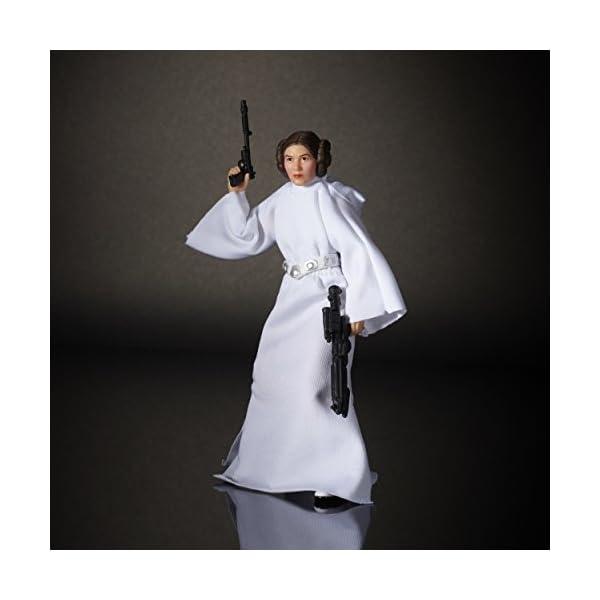 Star Wars Rogue One - Figura Princesa Leía Organa, 15 cm (Hasbro B9803ES0) 5