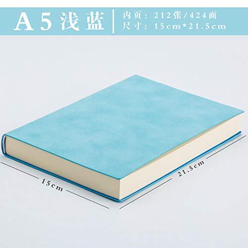 Ultra-dicke leere Notebook aus weichem Leder Business-Notebook Vintage-Handbuch für Männer und Frauen Zielsetzung Business-Plan (Mädchen Zeitschriften Zu Schreiben)