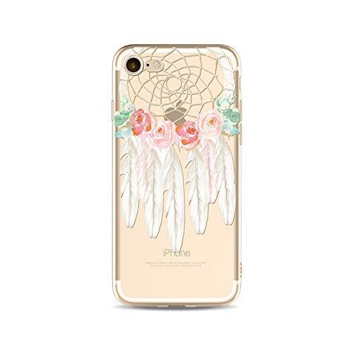 Coque iPhone 5 5s Housse étui-Case Transparent Liquid Crystal Capture de Rêve en TPU Silicone Clair,Protection Ultra Mince Premium,Coque Prime pour iPhone 5 5s-style 15 style 4