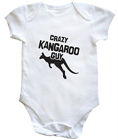 HippoWarehouse Crazy kangaroo guy baby vest boys girls