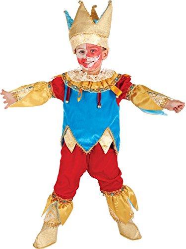 AV5058-4 - Kinderkostüm JOLLY BABY - Alter: 1-6 Jahre - Größe: 4 (Alte Joker Kostüme)