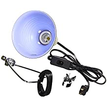Fluker's Repta-Clamp Lamp with Switch for Reptiles, 5.5-Inch Version