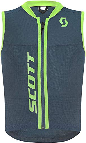SCOTT Kinder Actifit Plus Schutzweste, Nightfall Blue/Green, XS