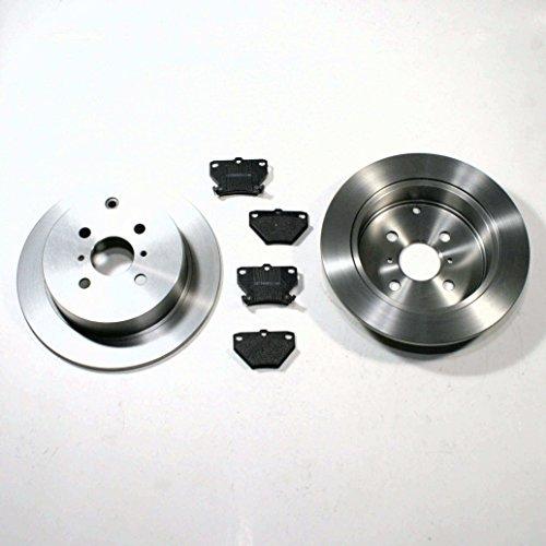 Bremsscheiben 269 mm/Bremsen + Bremsbeläge hinten