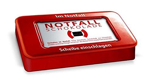 Liebeskummerpillen - Notfallschokolade in der Dose (30 g) (Schokolade Tröster)
