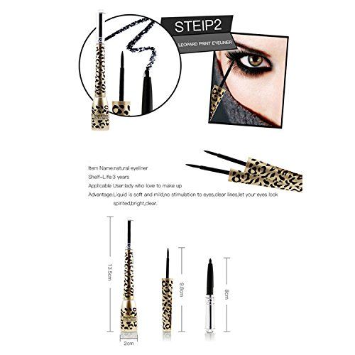 Oshide Eye Makeup Set Long Staying Double Color Eyeliner Gel+Lip Liner+Lip Gloss+Eyeliner+Eyebrow Pencil+Mascara Waterproof No Fade Makeup Kit