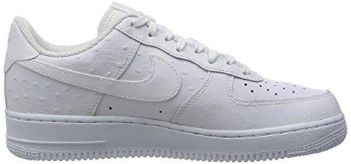 Nike - Air Force 1 '07 Lv8, Scarpe da ginnastica Uomo Bianco (White / White-White)