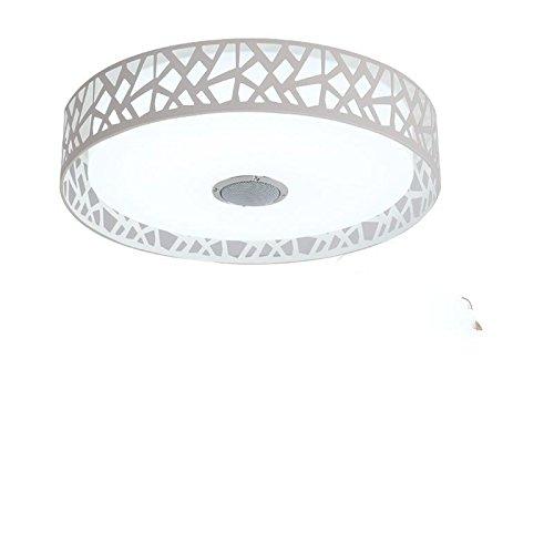 Shop 6 Deckenleuchte Led Deckenleuchte Lampe Schlafzimmer Bluetooth Audio Und Fernbedienung Kind Beleuchtung Decke & Lautsprecher Weiß App Und Fernbedienung