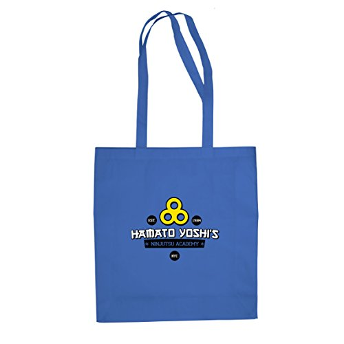 Hamato Yoshi's Ninjutsu Academy - Stofftasche / Beutel Blau