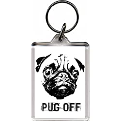 Llavero Pug Off