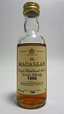 Macallan - Single Highland Malt Miniature - 1966