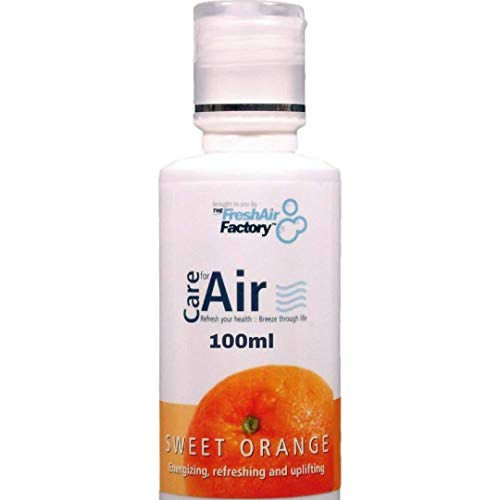 Fragancia para purificador de aire - CareforAir naranja dulce esencia 100 ml - Aroma Afrutado, citrusy - Motivar, energi