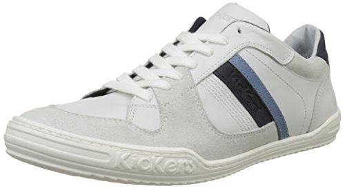 Kickers Jexprime, Baskets Basses Homme Blanc (Blanc)