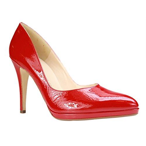 PETER KAISER - 78512/218 - Damen Pumps - Rot XXL Schuhe in Übergrößen Rot