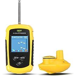 CHSEEO Buscador de Peces Inalámbrico Sonar para Pesca Sondas de Pesca Detector Fishfinder Buscadores de Pescado Alarma Profundidad Buscador Eecosonda para La Pesca #1