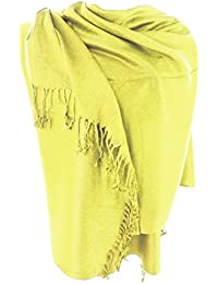 Silver Fever Solid Color Pashmina Shawl Scarf Stole Warm Soft