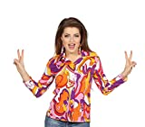 Wilbers Bluse 70´S Partybluse Retrobluse Vintage Kleidung (44)
