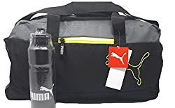 Puma Multicolor Polyester 1024Cms Softsided Gym/Travel Duffle