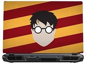 Harry Potter Minimalistic Laptop Skin (15.6 inch)