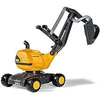 rolly toys 42/108/4 Volvo - Vehículo de excavadora móvil