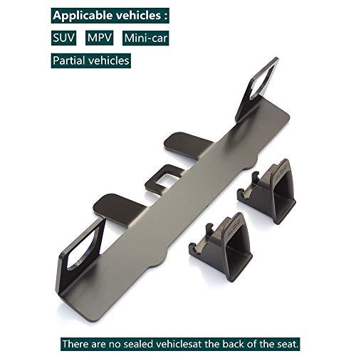 VISLONE Universal-Befestigungsset für Kindersitz, für ISOFIX Gurtverbinder auf KompaktSUV und Schrägheck
