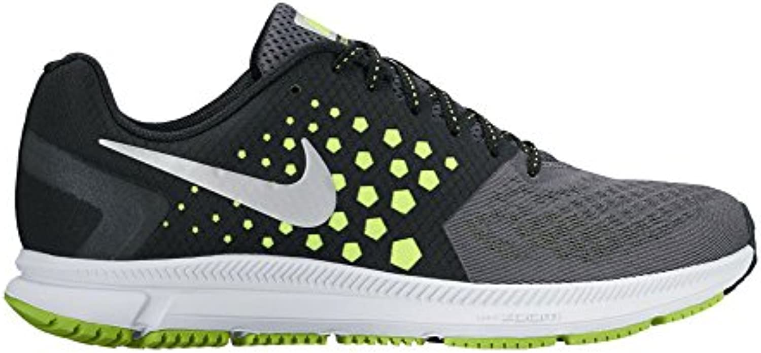Nike, uomo Sneaker uomo Nike, nero Black/White-Volt-Dark Grey Parent 0b3dda