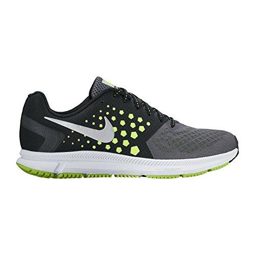 Nike Herren Zoom Spannweite Laufschuh Black/White-Volt-Dark Grey