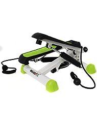 MAXOfit® Deluxe Stepper Greenline MF-11, Ministepper, inclusive bandas de entrenamiento látex