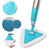 Smart Saver Triangle 360 Degree Rotation Spray Mop for Home and Office Floor