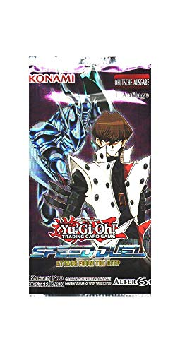 Yu-Gi-Oh! Speed Duel Attack from The Deep 1 Booster mit 4 Karten -