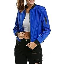 Amazon.es: chaquetas universitarias mujer - 3 estrellas y más