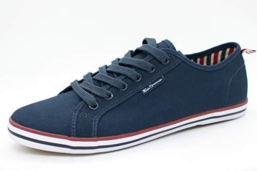 Ben Sherman Herren Lestar Sneaker, Blau (Navy Canvas 047), 44 EU