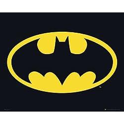 Empire Batman - Póster de logo de Batman (incluye artículo adicional)